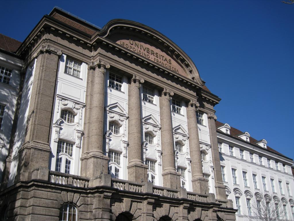 Инсбрукский университет имени Леопольда и Франца
